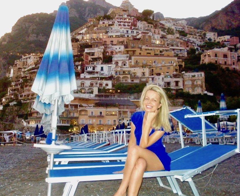 The Beloved's Wrist & By the Sea: In Positano, Italy